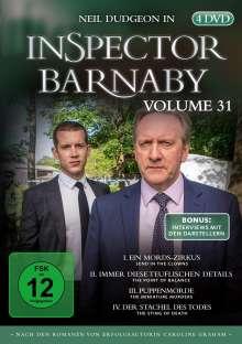 Inspector Barnaby Vol. 31, 4 DVDs