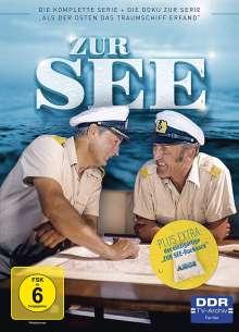 Zur See (Komplette Serie inkl. Seesack), 4 DVDs
