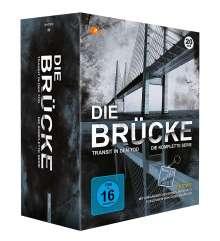 Die Brücke - Transit in den Tod (Komplette Serie), 20 DVDs