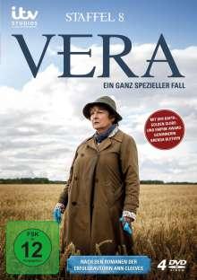Vera Staffel 8, 4 DVDs