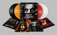 Alice Cooper: Treasures - A Vinyl Collection (180g) (Limited Numbered Boxset Edition), 4 LPs