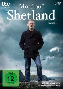 Mord auf Shetland Staffel 3, 3 DVDs