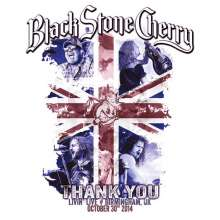 Black Stone Cherry: Thank You: Livin' Live , 1 CD und 1 Blu-ray Disc