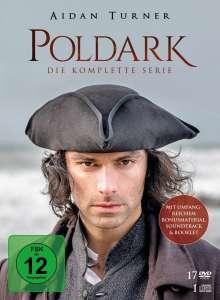 Poldark (Komplette Serie), 17 DVDs und 1 CD