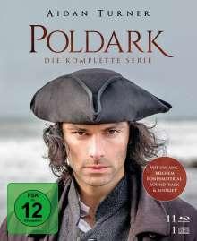 Poldark (Komplette Serie) (Blu-ray), 11 Blu-ray Discs und 1 CD