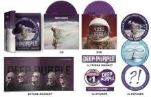 Deep Purple: Whoosh! (Limited Hattrick Edition) (Box Set), 1 CD, 1 DVD und 1 Merchandise