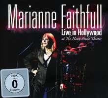 Marianne Faithfull: Live In Hollywood, 1 CD und 1 DVD