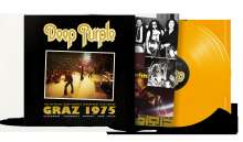 Deep Purple: Graz 1975 (180g) (Limited Numbered Edition) (Red/Gold Vinyl), 2 LPs