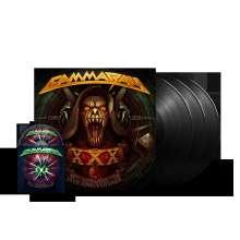 Gamma Ray (Metal): 30 Years: Live Anniversary (180g), 3 LPs und 1 Blu-ray Disc