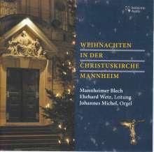 Mannheimer Blech - Weihnachten in der Christuskirche Mannheim, CD