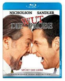 Die Wutprobe (Blu-ray), Blu-ray Disc