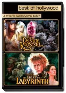 Der dunkle Kristall / Reise ins Labyrinth, 2 DVDs