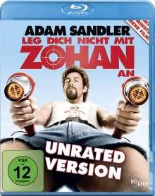 Leg dich nicht mit Zohan an (Blu-ray), Blu-ray Disc