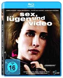 Sex, Lügen und Video (Blu-ray), Blu-ray Disc