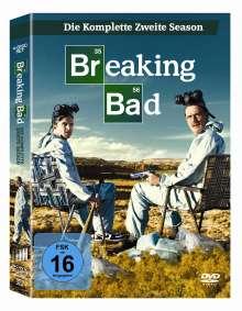 Breaking Bad Season 2, 4 DVDs
