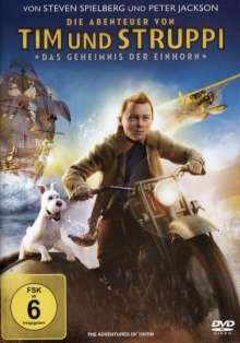 Tim und Struppi: Das Geheimnis der Einhorn, DVD