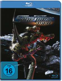 Starship Troopers: Invasion (Blu-ray), DVD