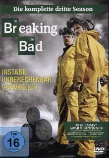 Breaking Bad Season 3, 4 DVDs