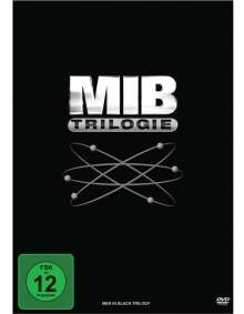 Men in Black 1-3, 3 DVDs