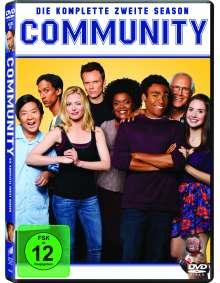 Community Season 2, 4 DVDs