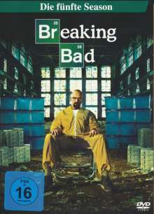 Breaking Bad Season 5 Box 1, 3 DVDs