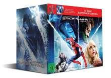 The Amazing Spider-Man 2: Rise of Electro (3D Blu-ray + Blu-ray + DVD + Sammelfigur), 2 Blu-ray Discs und 1 DVD