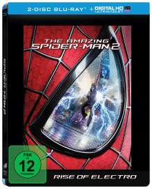 The Amazing Spider-Man 2: Rise of Electro (Blu-ray Mastered in 4K im Steelbook), 2 Blu-ray Discs