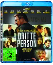 Dritte Person (Blu-ray), Blu-ray Disc