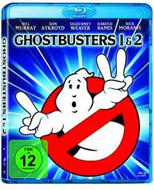 Ghostbusters 1 & 2 (Blu-ray), 2 Blu-ray Discs