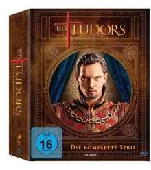 Die Tudors (Blu-ray) (Komplette Serie), 11 Blu-ray Discs