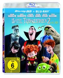Hotel Transsilvanien 2 (3D & 2D Blu-ray), 2 Blu-ray Discs