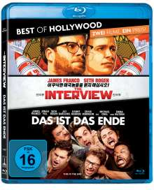 The Interview / Das ist das Ende (Blu-ray), 2 Blu-ray Discs