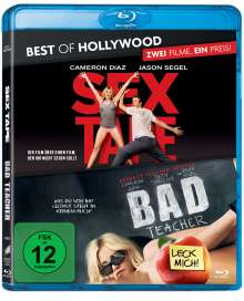 Sex Tape / Bad Teacher (Blu-ray), 2 Blu-ray Discs