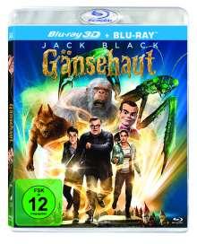 Gänsehaut (2015) (3D & 2D Blu-ray), 2 Blu-ray Discs
