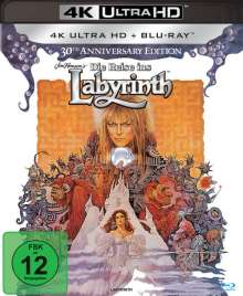 Die Reise ins Labyrinth (30th Anniversary Edition) (Ultra HD Blu-ray & Blu-ray), 1 Ultra HD Blu-ray und 1 Blu-ray Disc