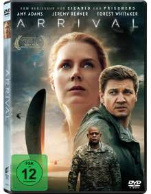 Arrival, DVD