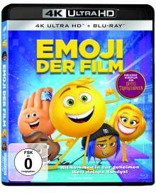 Emoji - Der Film (Ultra HD Blu-ray & Blu-ray), 1 Ultra HD Blu-ray und 1 Blu-ray Disc