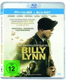 Die irre Heldentour des Billy Lynn (3D & 2D Blu-ray), 2 Blu-ray Discs