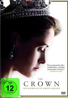 The Crown Staffel 1, 4 DVDs