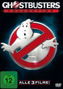Ghostbusters 1-3, 3 DVDs