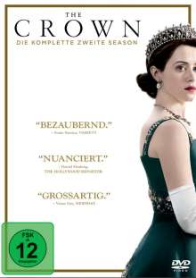 The Crown Season 2, 4 DVDs