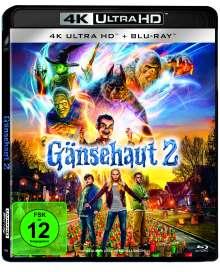 Gänsehaut 2: Gruseliges Halloween (Ultra HD Blu-ray & Blu-ray), 1 Ultra HD Blu-ray und 1 Blu-ray Disc