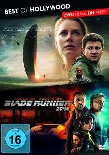 Arrival / Blade Runner 2049, 2 DVDs