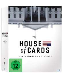 House of Cards (Komplette Serie) (Blu-ray), 23 Blu-ray Discs