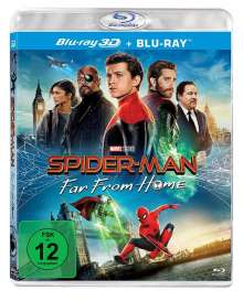 Spider-Man: Far from Home (3D & 2D Blu-ray), 2 Blu-ray Discs