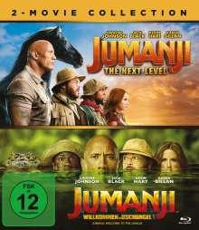 Jumanji: Willkommen im Dschungel / Jumanji: The Next Level (Blu-ray), 2 Blu-ray Discs
