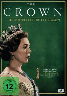 The Crown Staffel 3, 4 DVDs