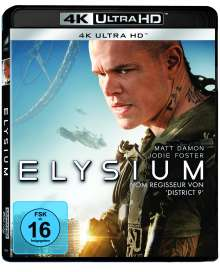 Elysium (Ultra HD Blu-ray), Ultra HD Blu-ray
