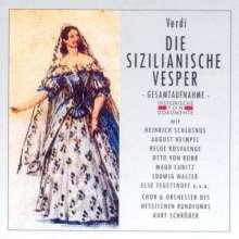Giuseppe Verdi (1813-1901): I Vespri Siciliani (in dt.Spr.), 2 CDs