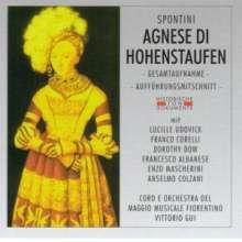 Gaspare Spontini (1774-1851): Agnese di Hohenstaufen, 2 CDs